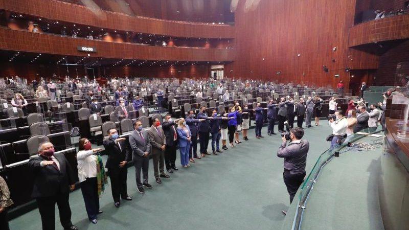 Rinden protesta 23 diputadas y diputados como integrantes de la LXIV Legislatura en San Lázaro