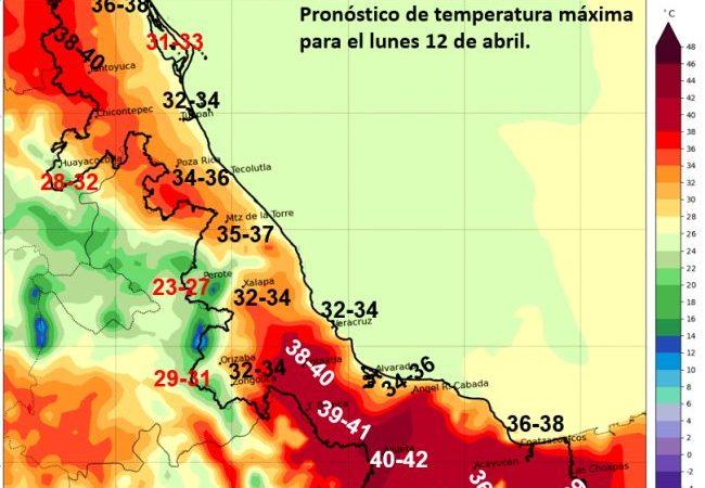 Próximas 24 horas, más aumento de temperatura, acompañado de surada