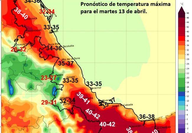 Persistirá ambiente caluroso en territorio veracruzano