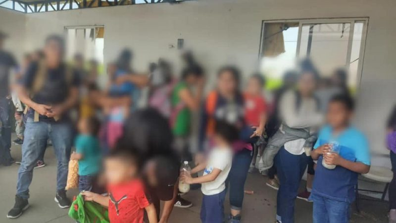 Rescata SSP a 66 migrantes en Agua Dulce