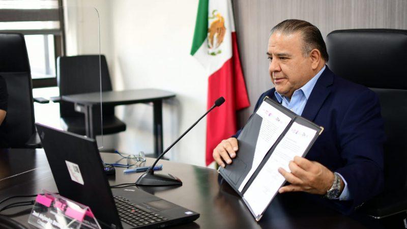 OPLE Veracruz y TEV celebran firma de Convenio para fortalecer permanentemente la colaboración institucional