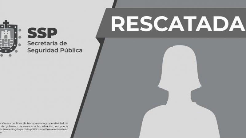 Rescata SSP a mujer privada ilegalmente de la libertad, en Coatzacoalcos