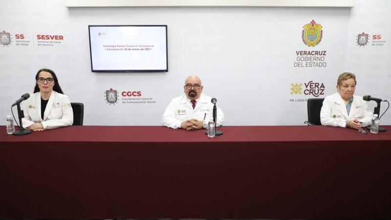 Secretaría de Salud de Veracruz, preparada para hacer frente a una tercera o cuarta oleada Covid: Ramos Alor