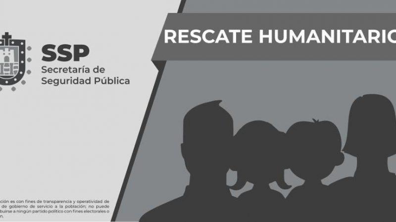Rescatan a 18 migrantes; hay tres detenidos, en Las Choapas
