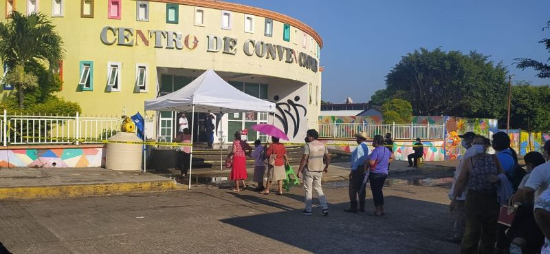Inició campaña de vacunación anti Covid en Ángel R. Cabada
