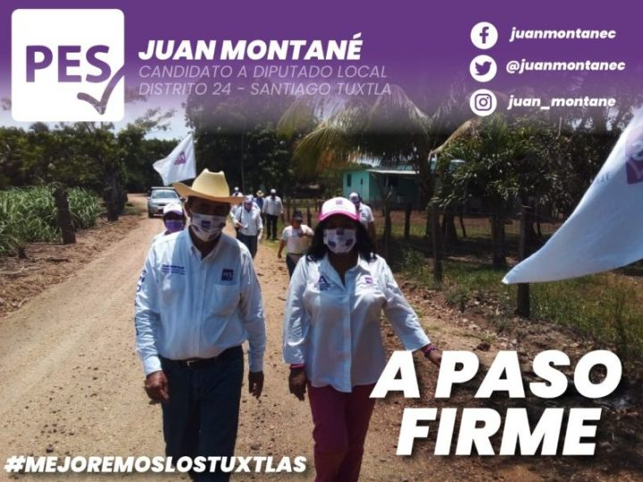 Desde Tlacotalpan, promete Juan Montané gestionar a favor del campo