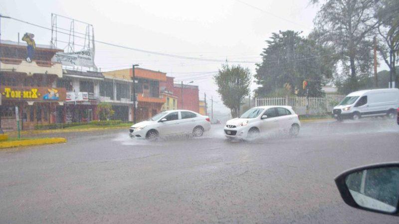 Fin de semana lluvioso en Veracruz