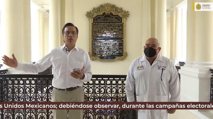Anuncia Cuitláhuac aplicación de segunda dosis de vacuna anti Covid para 5 municipios