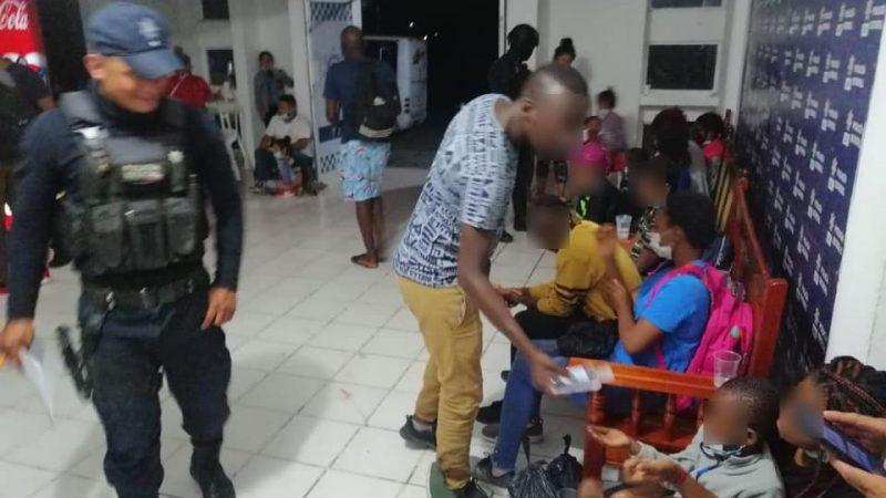 Rescata SSP a 149 migrantes, en tres municipios