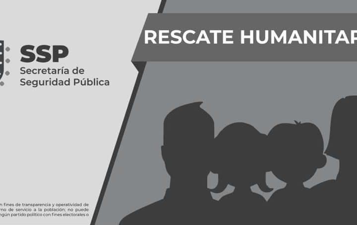 Rescata SSP a 57 migrantes, en cuatro municipios