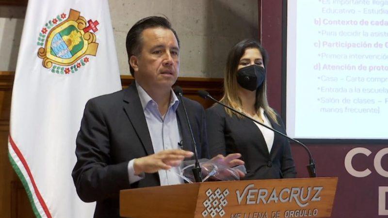 Pide Cuitláhuac a INE y OPLE investiguen sobre caso de despensas en Perote