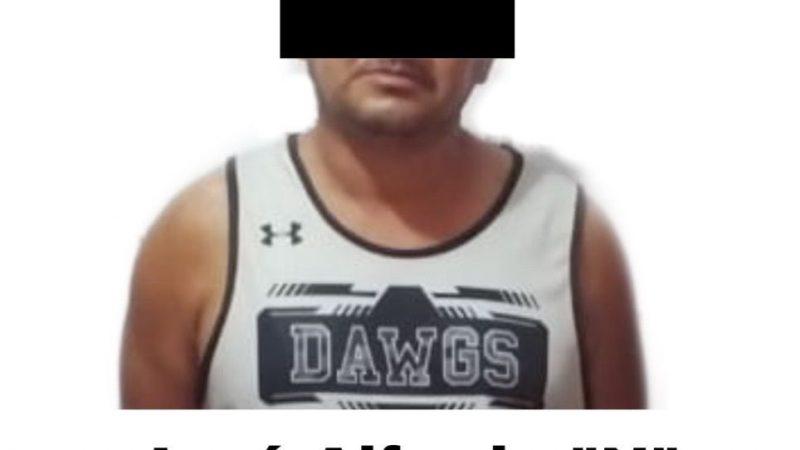 """Cae """"El Fello"""", presunto integrante de una célula delictiva en Agua Dulce"""