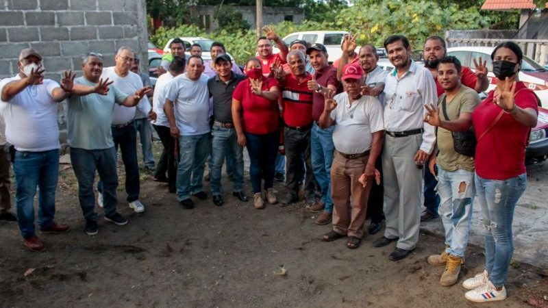 Fabián Cárdenas comprometido con la dignificación de oportunidades para el gremio taxista