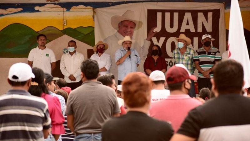 Juan Yona llama a la civilidad política