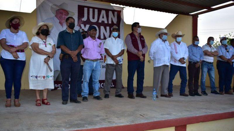 Garantiza Juan Yona atención inmediata a las necesidades de Hueyapan