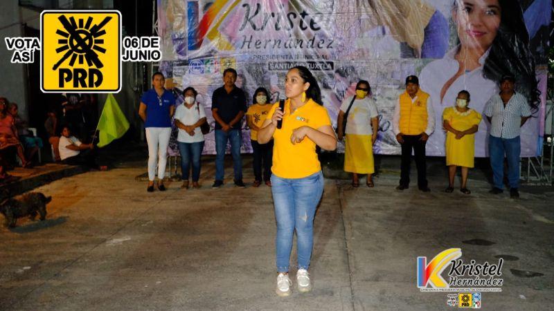Kristel Hernández una mujer con juventud y experiencia para gobernar Santiago Tuxtla