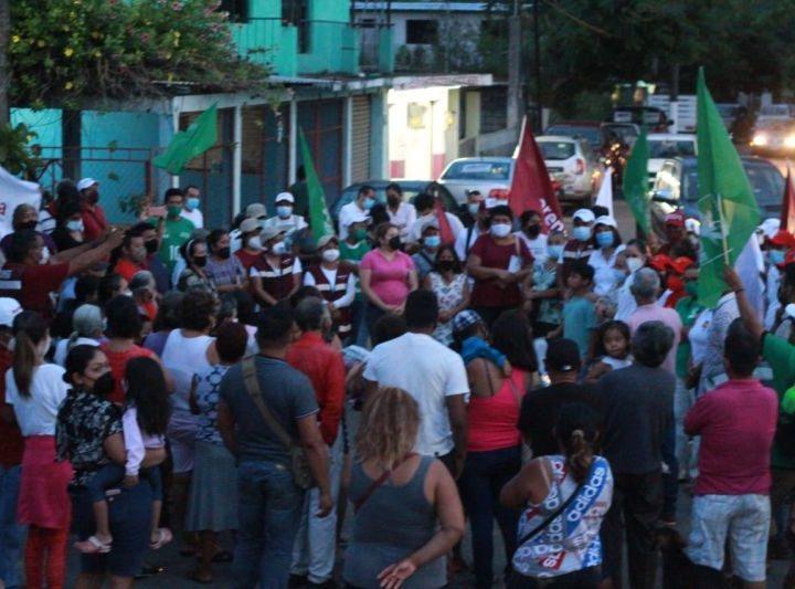 Gobierno municipal, ciudadanía y empresarios juntos para el desarrollo de San Andrés Tuxtla propone la doctora Remedios