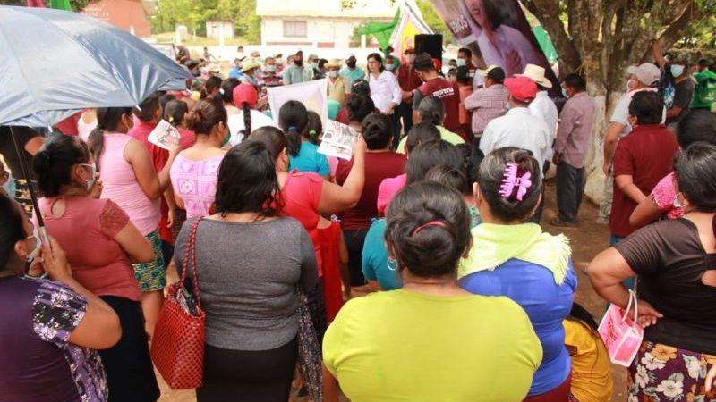 Cuesta de Laja no defraudará a la doctora Remedios, con el apoyo de todos será nuestra alcaldesa, señalan habitantes