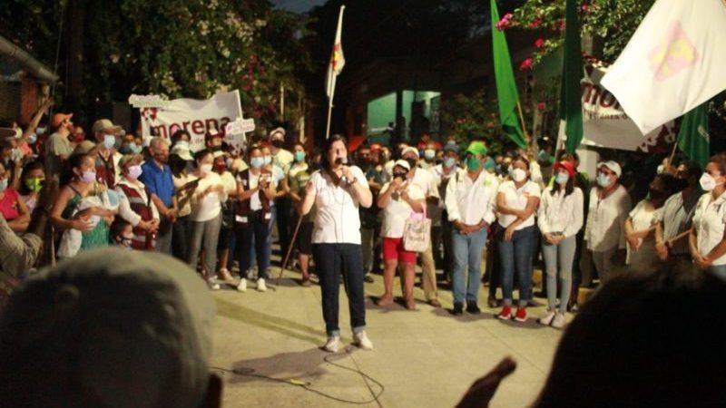 La persona idónea y honesta para la presidencia es la doctora Remedios; Paola Tenorio
