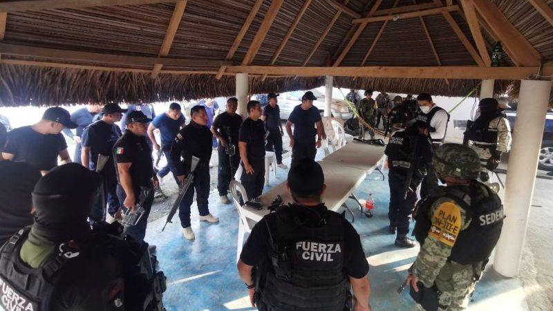 Asume SSP control de la seguridad en Playa Vicente