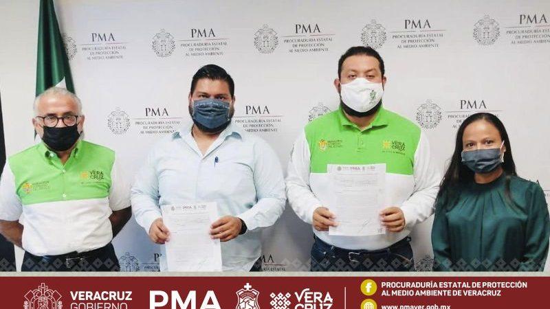 PMA y Coppel firman Convenio de Certificación Ambiental